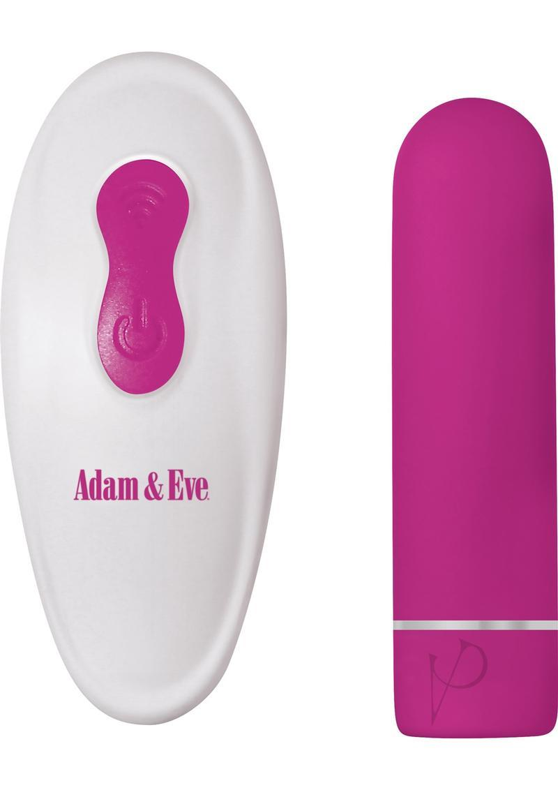 Adam And Eve Eves Recharge Remote Control Bullet Wireless Waterproof Silicone